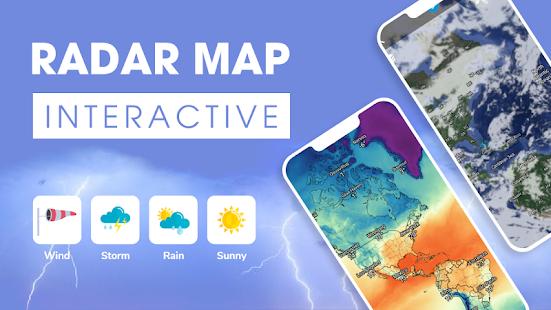 Weather forecast – Weather amp Weather radar v2.3.2 screenshots 1