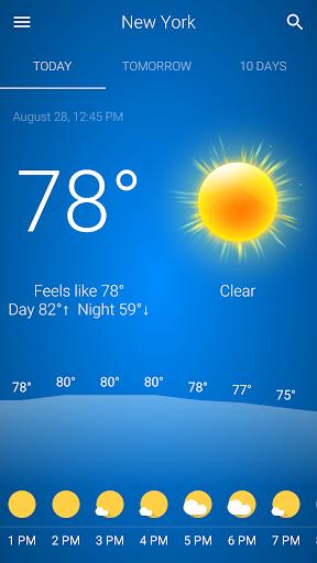Weather v92 screenshots 1