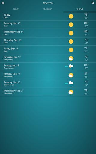 Weather v92 screenshots 10