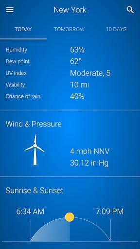 Weather v92 screenshots 4