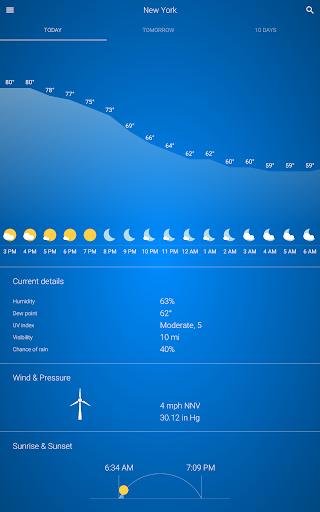 Weather v92 screenshots 7