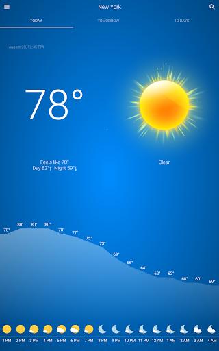 Weather v92 screenshots 8