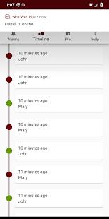 WhatWeb Plus – Online Tracker for WhatsApp v1.1.7 screenshots 2