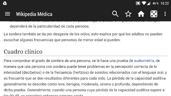 WikiMed – Wikipedia Mdica Offline v2020-01 screenshots 5