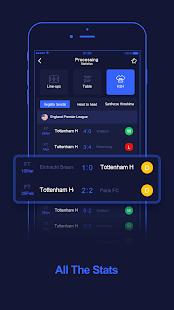 WinScore – free football live score. v1.1.3 screenshots 2