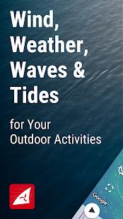 Windfinder Wind forecast Weather Tides amp Waves v3.19.0 screenshots 1