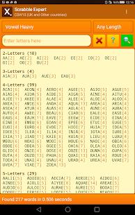 Word Expert for SCRABBLE v4.7 screenshots 12
