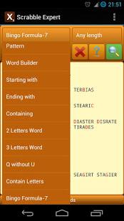 Word Expert for SCRABBLE v4.7 screenshots 6