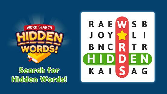 Word Search Hidden Words v21.0520.09 screenshots 2