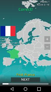 World Map Quiz v2.19.1 screenshots 1