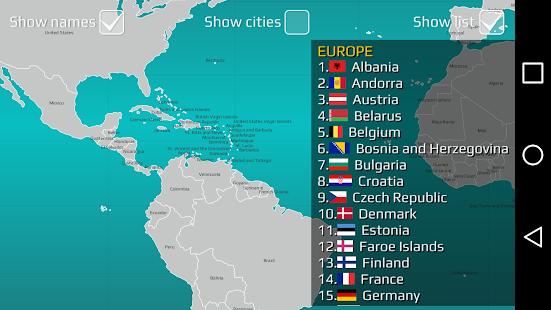 World Map Quiz v2.19.1 screenshots 11