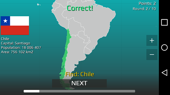 World Map Quiz v2.19.1 screenshots 15