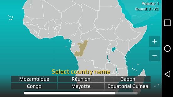 World Map Quiz v2.19.1 screenshots 6