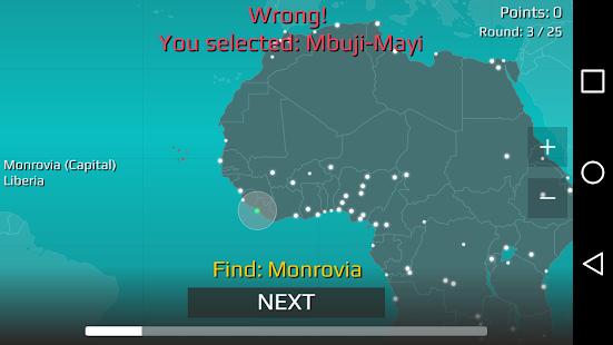 World Map Quiz v2.19.1 screenshots 9