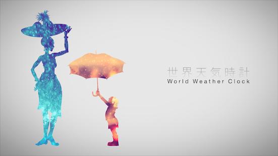 World Weather Clock Widget v8.018 screenshots 1
