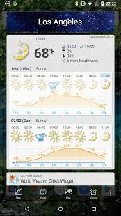 World Weather Clock Widget v8.018 screenshots 4