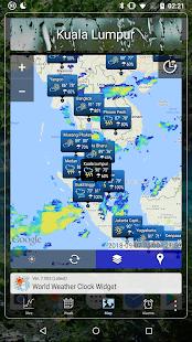 World Weather Clock Widget v8.018 screenshots 5