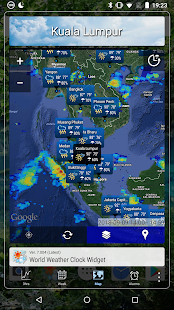 World Weather Clock Widget v8.018 screenshots 6