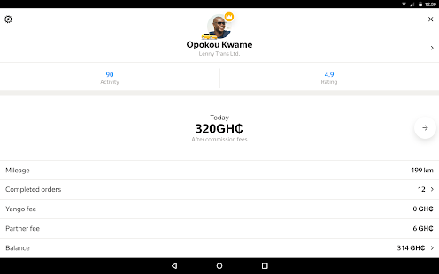 Yandex Pro TaximeterDriver job in taxi for ride v9.87 screenshots 12