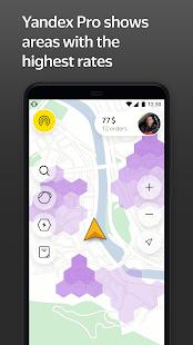 Yandex Pro TaximeterDriver job in taxi for ride v9.87 screenshots 2