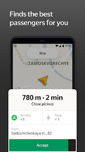 Yandex Pro TaximeterDriver job in taxi for ride v9.87 screenshots 4