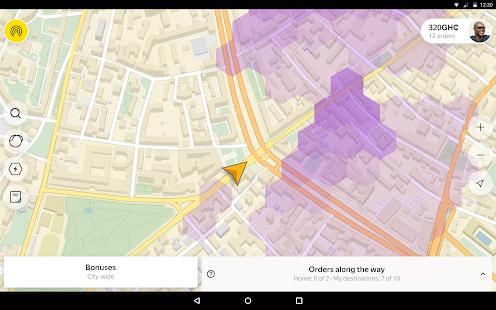 Yandex Pro TaximeterDriver job in taxi for ride v9.87 screenshots 6
