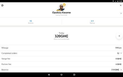 Yandex Pro TaximeterDriver job in taxi for ride v9.87 screenshots 8