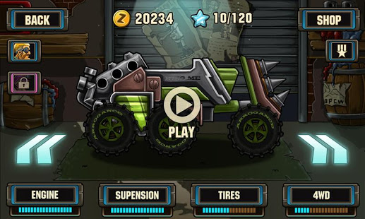 Zombie Road Racing v1.1.2 screenshots 3