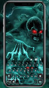 Zombie Skull Keyboard v5.3 screenshots 1