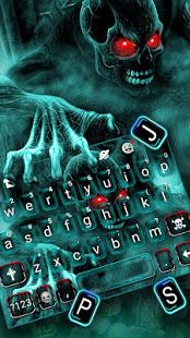 Zombie Skull Keyboard v5.3 screenshots 2