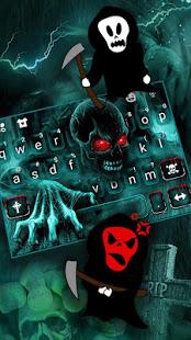 Zombie Skull Keyboard v5.3 screenshots 4