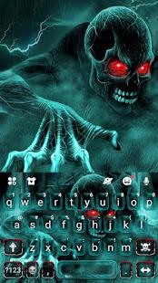 Zombie Skull Keyboard v5.3 screenshots 5