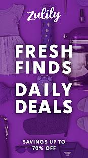 Zulily Fresh Finds Daily Deals v5.64.0 screenshots 9