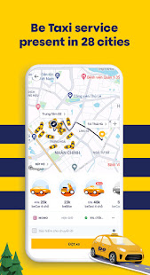 be – Vietnamese ride-hailing app v2.5.16 screenshots 2