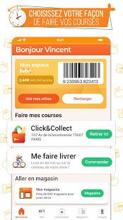 franprix express Livraison de courses et fidlit v5.3.1 screenshots 1