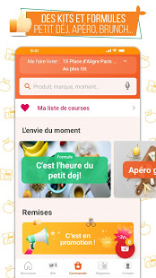 franprix express Livraison de courses et fidlit v5.3.1 screenshots 4
