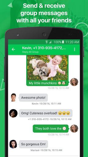 textPlus Free Text amp Calls v7.7.4 screenshots 6
