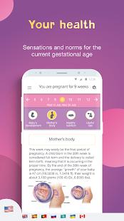 AMMA Pregnancy Tracker amp Baby Due Date Calculator v3.9.13.11 screenshots 2