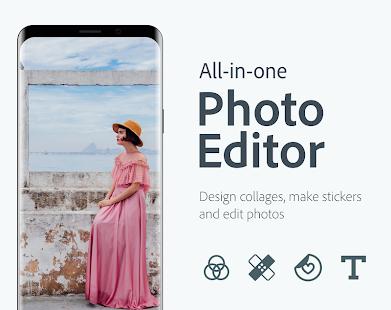 Adobe Photoshop ExpressPhoto Editor Collage Maker v7.6.878 screenshots 1