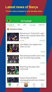 All Football – Barcelona News amp Live Scores v3.1.6 BL screenshots 1