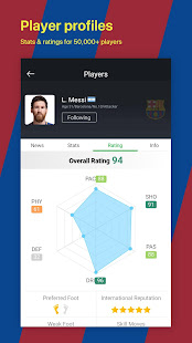 All Football – Barcelona News amp Live Scores v3.1.6 BL screenshots 6