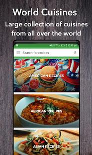 All Recipes World Cuisines v56.0.0 screenshots 2