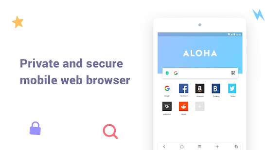Aloha Browser Lite – Private browser and free VPN v1.7.1 screenshots 5