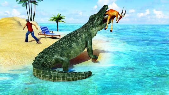 Animal Attack Simulator – Crocodile Games offline v1.0.47 screenshots 1