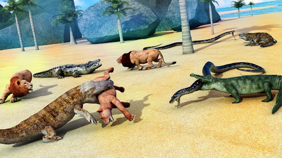 Animal Attack Simulator – Crocodile Games offline v1.0.47 screenshots 10
