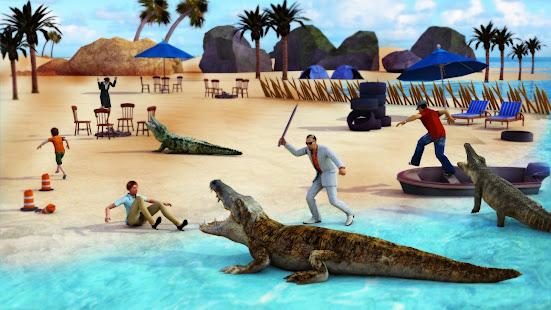 Animal Attack Simulator – Crocodile Games offline v1.0.47 screenshots 7