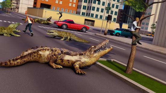 Animal Attack Simulator – Crocodile Games offline v1.0.47 screenshots 8