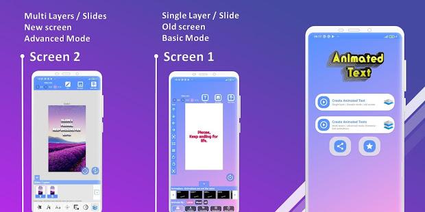 Animated Text Creator – Text Animation video maker v4.1.4 screenshots 2