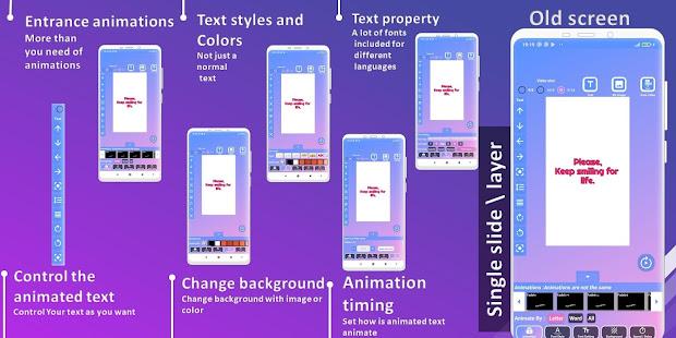 Animated Text Creator – Text Animation video maker v4.1.4 screenshots 3