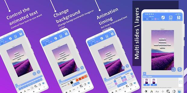 Animated Text Creator – Text Animation video maker v4.1.4 screenshots 5